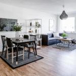 Nyrenoverad lägenhet Mölndal vardagsrum