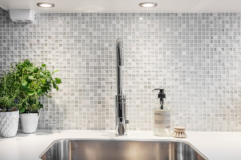 Mosaik Kok Kakel : Kakel mosaik i kok